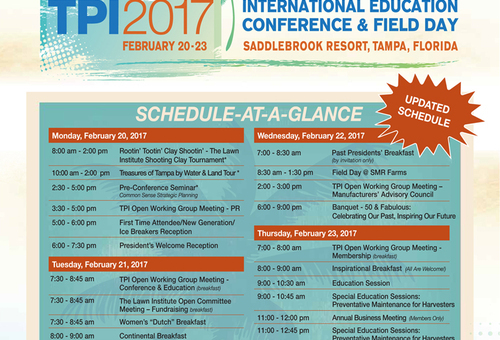 TPI International Education Conference & Field Day